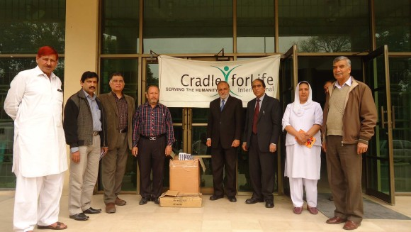 Cradle  for life International Donating Medicines