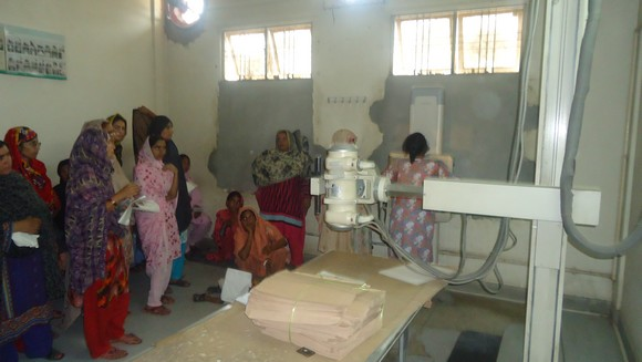 xray opd  female  unit Gulab Devi Hospital