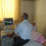 Cardiologist  busy in  Echo Room